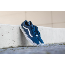 Vans Old Skool (Suede/ Canvas) Teal/ True White