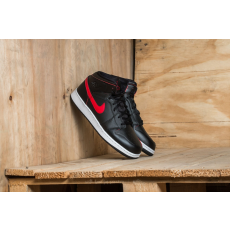 Jordan Air Jordan 1 Mid (BG) Black/ Gym Red-Gym Red-White