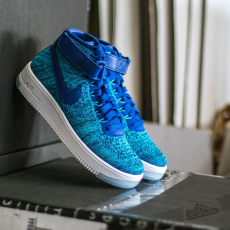 Nike W Nike Air Force 1 Flyknit Blue Lagoon/ Deep Royal Blue