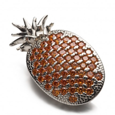 Shoeclipper Pin-apple Silver