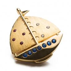 Shoeclipper Boatiful Twinkle Gold