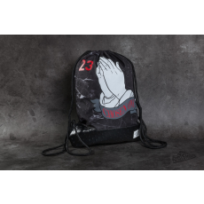 Cayler & Sons WL Chosen Gymbag Black Marble/ Black/ Red