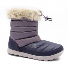 North Face W MICRO BAFFLE BOOTIE S SHINY PURPLE SAGE/DAPPLE GREY