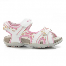 Geox J52D9A 054EE C0406 WHITE/PINK