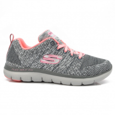 Skechers 12756/CCCL CHARCOAL/CORAL