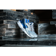 Nike Huarache Run (GS) Wolf Grey/ Binary Blue