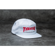 THRASHER Magazine Logo Two-Tone Hat White/ Red