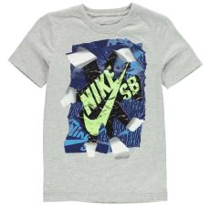 Nike Póló Nike QTT Rip gye.