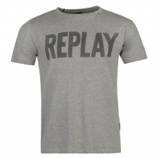 Replay Póló Replay Logo fér.