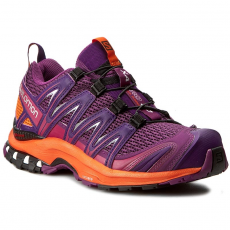 Salomon Cipők SALOMON - Xa Pro 3D W 393272 20 V0 Grape Juice/Flame/Acai
