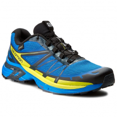 Salomon Cipők SALOMON - Wings Pro 2 Gtx 381215 29 W0 Bright Blue/Gecko Green/Deep Blue