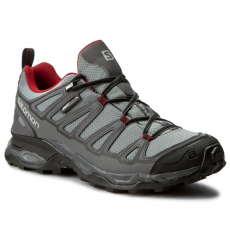 Salomon Bakancs SALOMON - X Ultra Prime Cs Wp 379221 31 M0 Pearl Grey/Dark Cloud/Flea