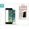 Devia Apple iPhone 7 Plus üveg képernyő- + Crystal hátlapvédő fólia - Devia Full Screen Tempered Glass 0.26 mm - Anti-Glare - 1 + 1 db/csomag - black