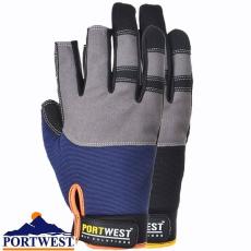 Portwest A740 - Powertool Pro védőkesztyű - Fekete (XL)