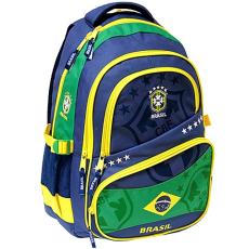 Eurocom Brasil tinédzser iskolai hátizsák előzsebbel