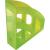 """HELIT Iratpapucs, műanyag, 75 mm, HELIT """"Economy"""", áttetsző zöld INH2361050"""
