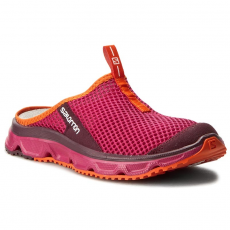 Salomon Papucs SALOMON - Rx Slide 3.0 W 392447 20 M0 Sangria/Fig/Flame