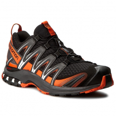 Salomon Cipők SALOMON - Xa Pro 3D 391960 Black/Magnet/Flame