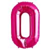 Szám formájú óriás fólia lufi, pink 0