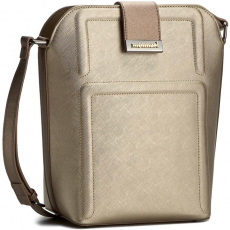 Monnari Táska MONNARI - BAG2100-022 Silver With Brown