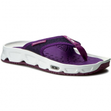 Salomon Vietnámi papucsok SALOMON - Rx Break W 392497 20 M0 White/Acai/Grape Juice