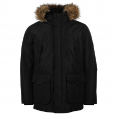Jack and Jones Core Hollow férfi parka kabát fekete XL