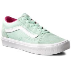 Vans Teniszcipő VANS - Old Skool Lite VN0A38HCN0U (Pop) Bay/True White