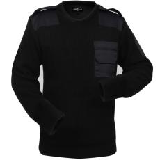 férfi pulóver méret: M fekete