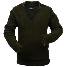 férfi pulóver méret: XXL katona zöld