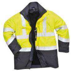 Portwest S779 HiVis multi-Protection kabát (SÁRGA/NAVY 3XL)