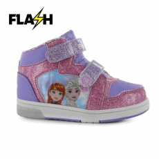 Character gyerek cipő villogó talppal - Frozen Fever - Character Light Up Hi Tops Infant Girls
