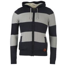 SoulCal bélelt kötött férfi kapucnis pulóver| felső