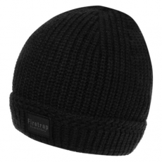 Firetrap Blackseal Ribbed sapka