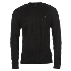 884 PoliceSecret Cable férfi kötött pulóver