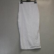 Fehér testhez simuló szoknya - Egy méret