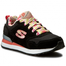 Skechers Sportcipő SKECHERS - Floral Fancies 84201L/BKMT Black/Multi