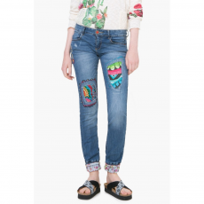 Desigual Denim Irea Utcai nadrág D (71D2JF5-q_5160-Denim Light)