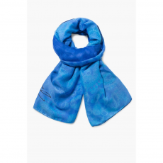 Desigual Foulard Rectangle Anim Sál,kendő D (71W9EJ3-q_5010-Royal)