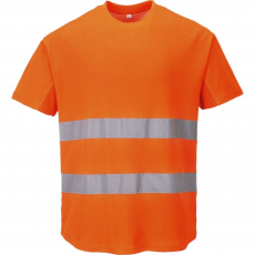 C394 - Hálós póló - Narancs (S)