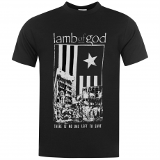 Official Band Merch Póló Official Lamb Of God Band fér.