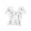 Comair tépőzáras festőkendő fehér 3040327