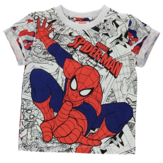 Character gyerek póló - Spiderman - Character Short Sleeve T Shirt Infant Boys