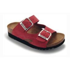 Scholl MOLDAVA WEDGE piros papucs