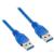 4world Kábel USB 3.0 AM-AM 5.0m| kék (08943)