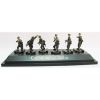 Caesar Miniatures WWII German Panzergrenadiers set1 (fertig bemalt) figura makett P801