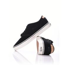 Vans férfi utcai cipő Atwood Deluxe, fekete, bőr, nubuk, 41