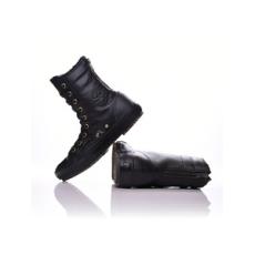 Converse női utcai cipő Chuck Taylor All Star Hi-Rise Boot Leather, fekete, bőr, természetes, 36