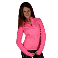 Adidas PERFORMANCE hosszúujjú felső SN STM 1-2Zip W, női, rózsaszín, poliészter, L