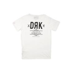 Dorko rövidujjú felső Basic T-Shirt, férfi, fehér, pamut keverék, L