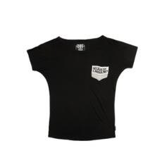 Dorko rövidujjú felső HP T-Shirt, női, fekete, pamut keverék, L